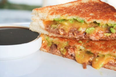 BBQ Pork Grilled Cheese-2