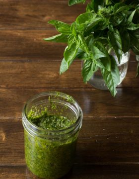 It's our classic pesto recipe and how to store pesto and more questions are answered right here! Plus recipes that use pesto and how to keep it green. ohsweetbasil.com
