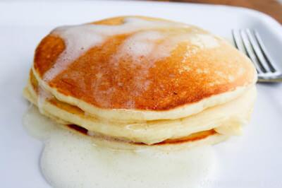 Meyer Lemon and Greek Yogurt Pancakes-2