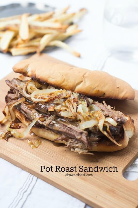 Pot Roast sandwich that is so good your husband will want to marry you all over again ohsweetbasil.com-6