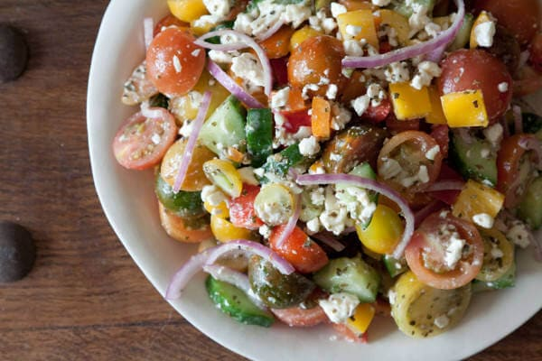 greek village salad