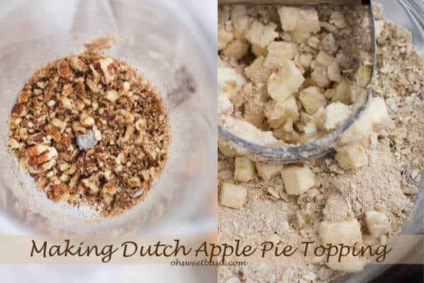 Dutch Apple Pie Topping ohsweetbasil