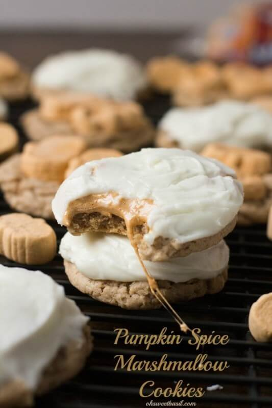 Pumpkin Spice Cookies With Cream Cheese Frosting Recipe ...