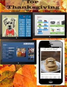 Top 4 Thanksgiving Apps