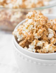 pumpkin spice marshmallow popcorn ohsweetbasil.com-4