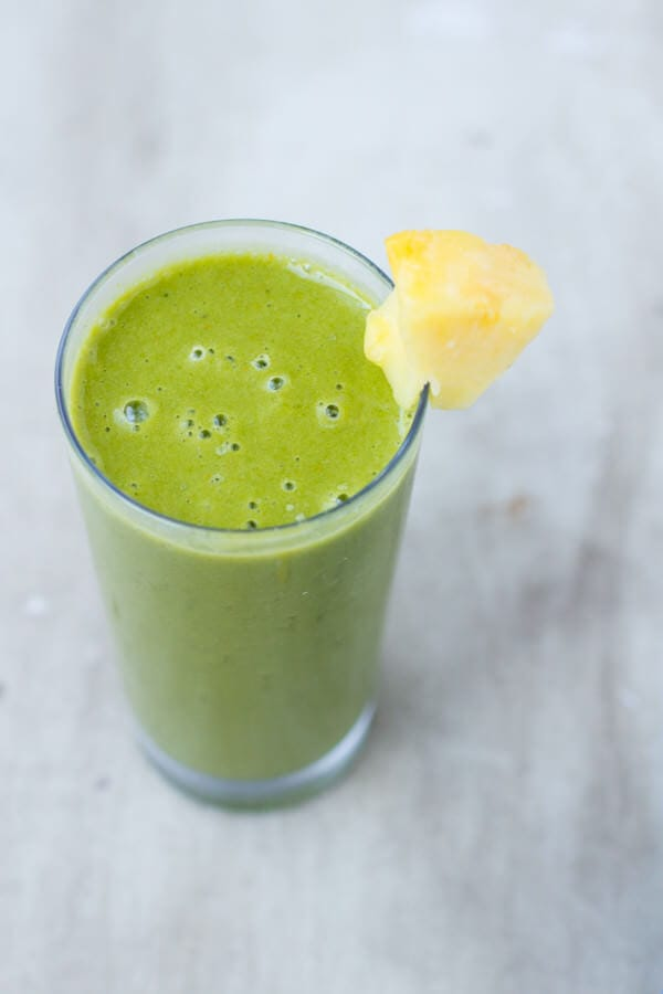Cold Buster Green Smoothie to fight off those nasty colds and keep the body healthy all winter long ohsweetbasil.com-3