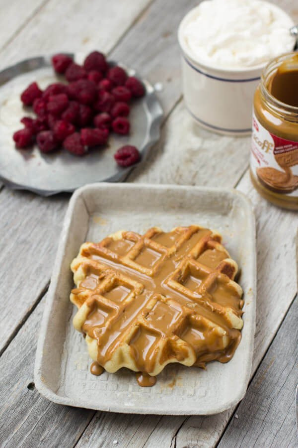 Waffle Love waffles are a huge hit in #Utah and now you can make your own #wafflelove #leige waffles from home! ohsweetbasil.com