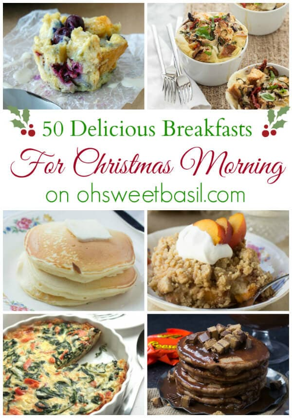 50 Delicious Breakfasts for Christmas Morning