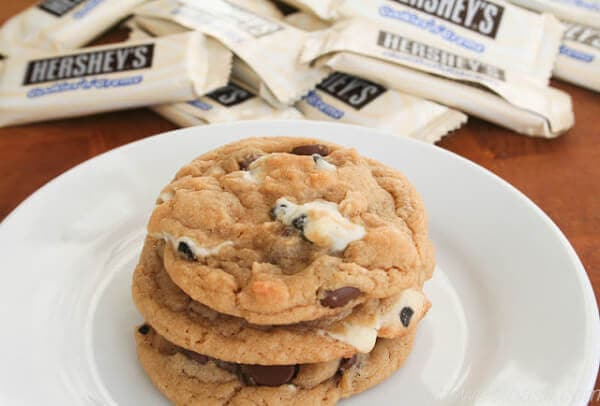 cookies n creme chocolate chip cookies