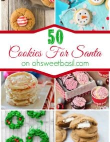 50 Cookies for Santa