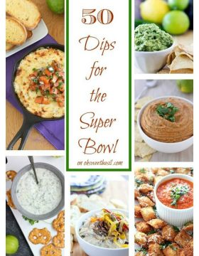50 Dips for the Super Bowl
