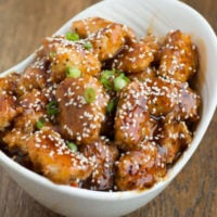 Baked Sesame Chicken-ohsweetbasil.com