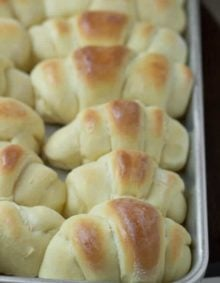 This is the world's best homemade rolls recipe, also known as the best dang rolls we have ever shoved into our faces. They are awesome!