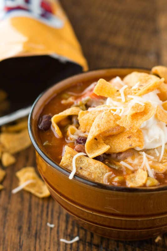 This is he recipe everyone begs for from my mom, Taco Stew. You absolutely must make it! ohsweetbasil.com