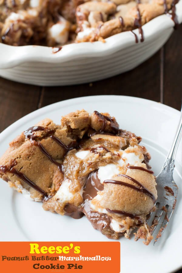 reese's peanut butter marshmallow cookie pie and 3 things I did to change my marriage ohsweetbasil.com