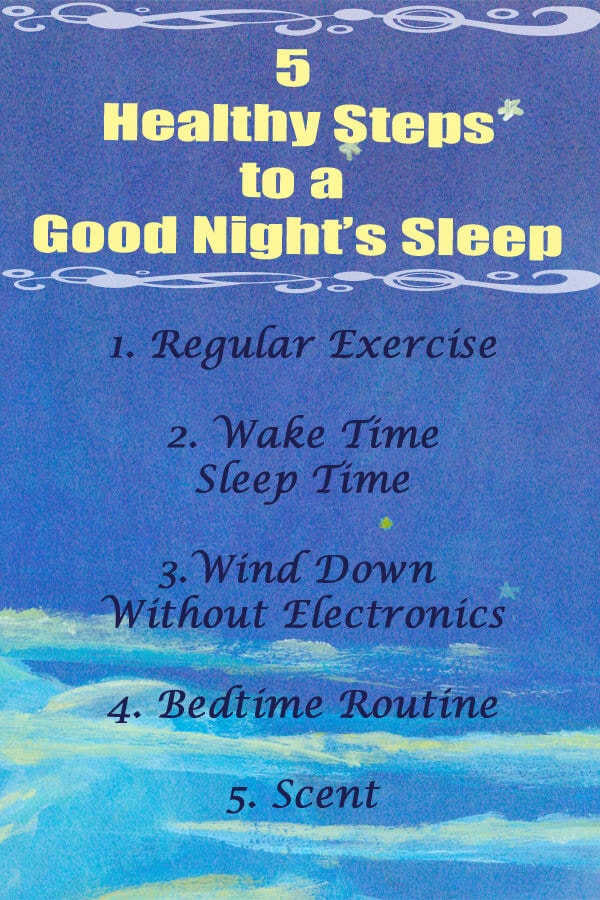 Ever since becoming a mom I've tried to get my kids to sleep well but I've noticed my sleep getting worse. These are the 5 steps we live by for a better night's sleep ohsweetbasil.com