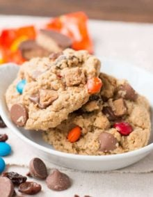 1 1/2 cups creamy peanut butter (name brand works best) 1 stick softened, unsalted butter