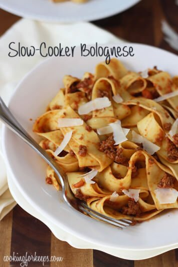 Slow-Cooker-Bolognese Print