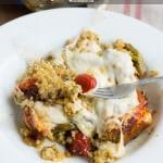Easy Pesto Asparagus Quinoa