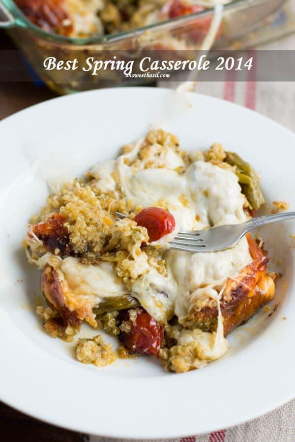 pesto-asparagus-quinoa-recipe-on-ohsweetbasil.com