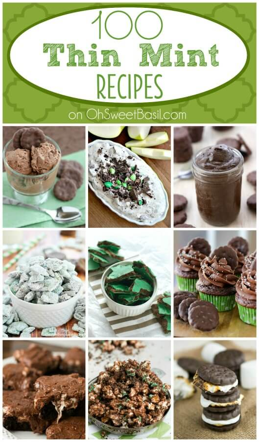 100 Thin Mint Recipes on ohsweetbasil.com