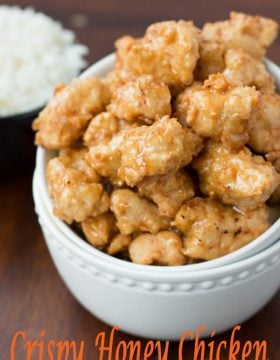This asian crispy honey chicken was so good and turned out perfect! ohsweetbasil.com