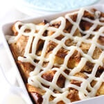 Gooey Cinnamon Roll French Toast Casserole