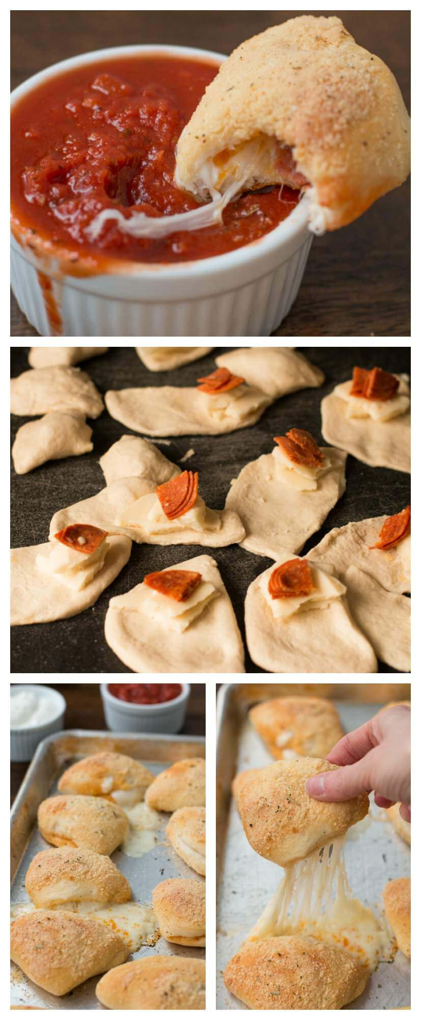 the kids loved these buttery, cheesy pepperoni pizza dippers, but I secretly did too! ohsweetbasil.com