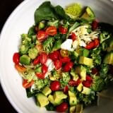 green-salad-recipe-ohsweetbasil.com