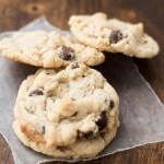 banana cream chocolate chip cookies ohsweetbasil.com