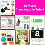 Giveaways and Easter Recipes