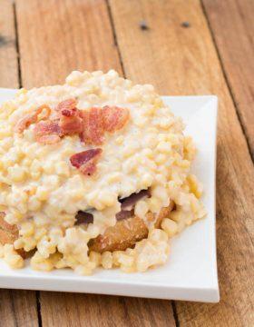ham sandwich with creamy corn ohsweetbasil.com