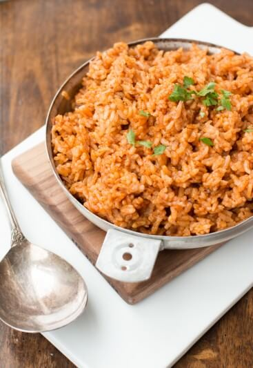 quick and easy spanish rice ohsweetbasil.com