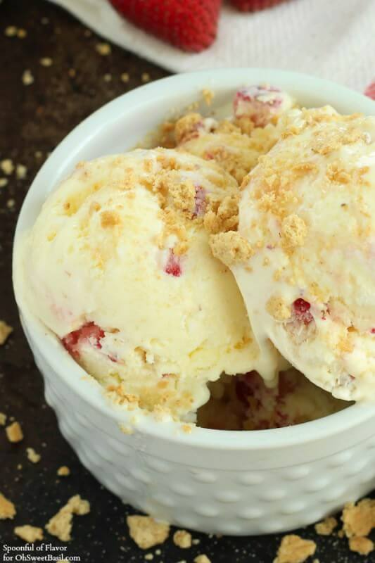 Strawberry Cheesecake_Ice Cream