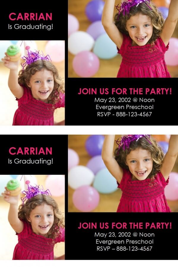 carrian grad invite