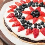 Berry Fruit Pizza Pie