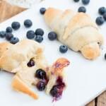 honey blueberry cheese danish ohsweetbasil.com