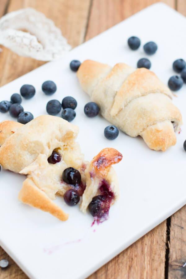 Honey Blueberry Cheese Danish