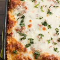 easy lasagna recipe on ohsweetbasil.com