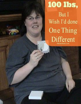one thing I wish I could tell everyone wanting to lose weight like me ohsweetbasil.com