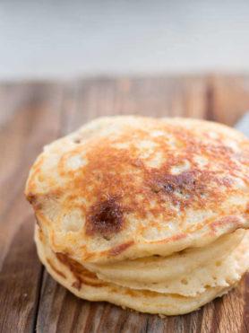 cinnamon burst pancakes ohsweetbasil.com
