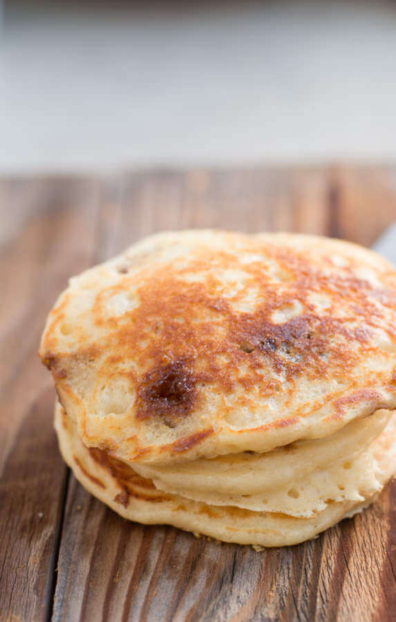 Cinnamon Burst Pancakes