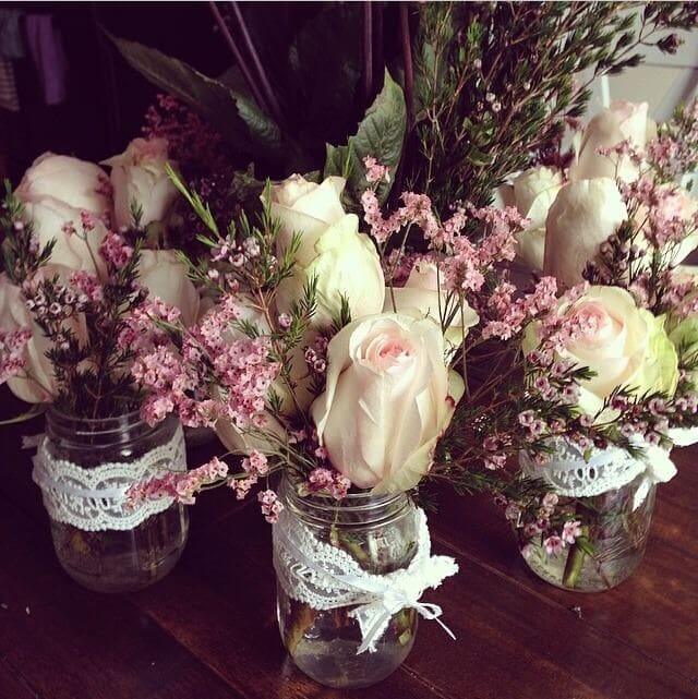 How to get flowers for free for any event! ohsweetbasil.com
