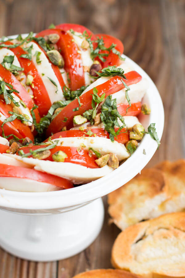 The BEST caprese salad we've ever had! ohsweetbasil.com