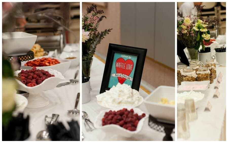 wafflle love catering, the best choice we made for our daughter's baptism ohsweetbasil.com