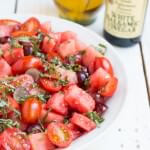 Watermelon Salad with Mint