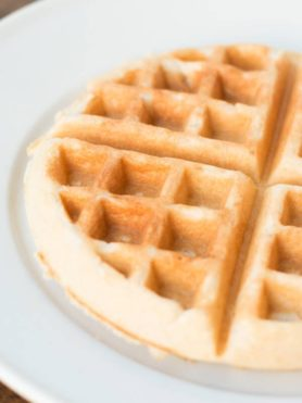 the secret to making your store bought waffle mix taste like homemade ohsweetbasil.com