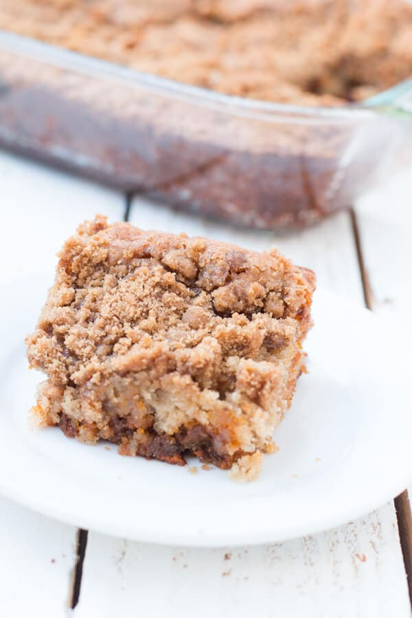 Perfect Snickerdoodle Banana Bars ohsweetbasil.com