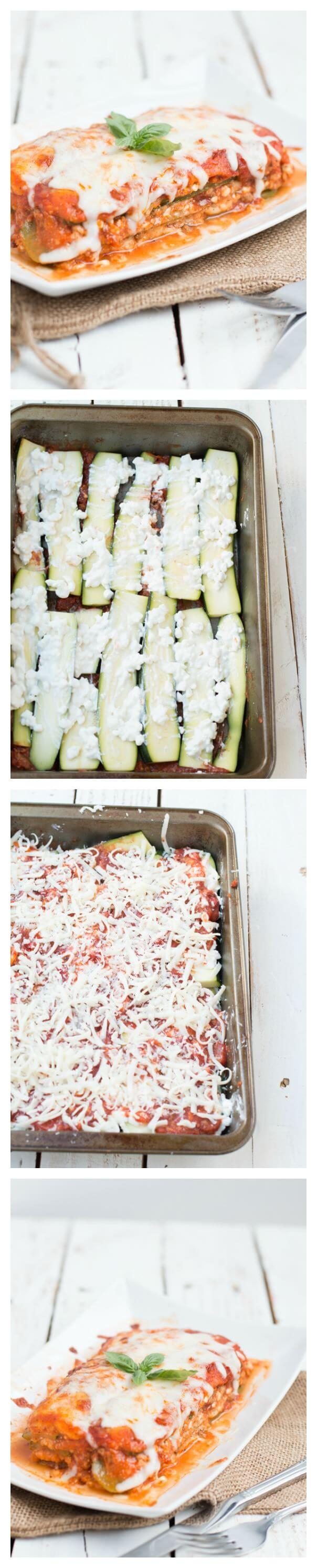 The BEST zucchini lasagna we've ever had! ohsweetbasil.com