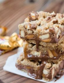 twix carmelitas for the best dang thing you'll eat all week! ohsweetbasil.com